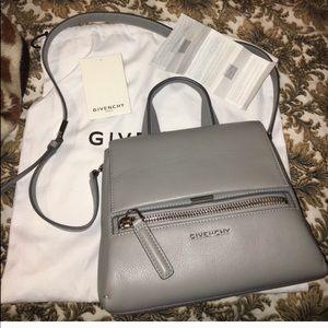 NWT Gray Givenchy Pure Pandora Bag
